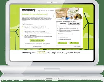 Ecotricity Microsites