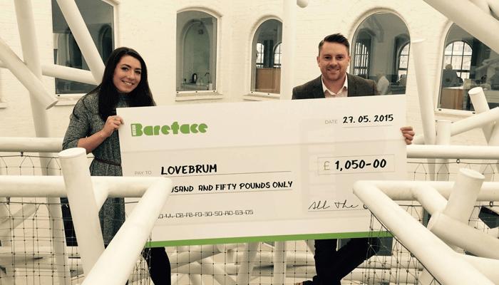 LoveBrum Cheque