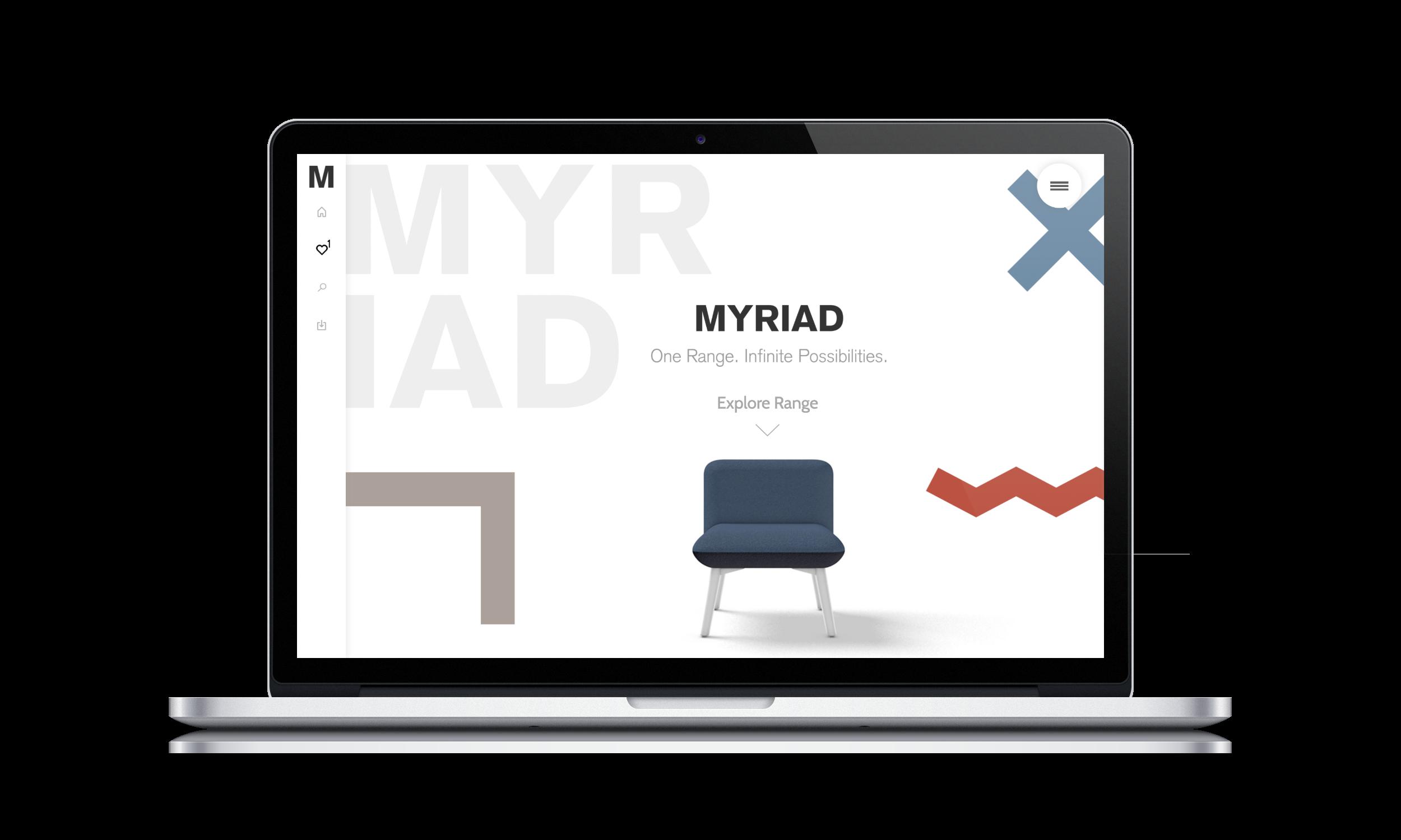 Myriad microsite